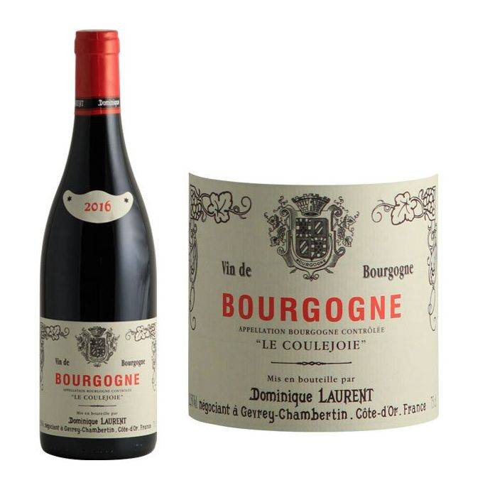"""Bourgogne Gamay-Pinot """"Le Coulejoie""""  - 1"""